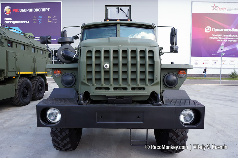 Upgraded Ural Federal-42591 armored vehicle