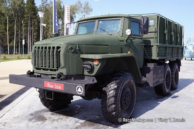 Ural-4320-0010-31 DKZ armored vehicle