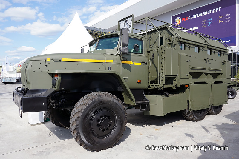 Ural Federal-42590 armored vehicle