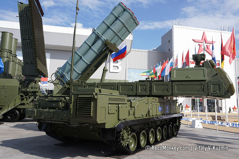 9A317M TELAR of 9K317M Buk-M3 air defence missile system