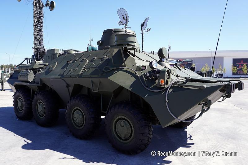 R-439-MD2 satellite signal vehicle