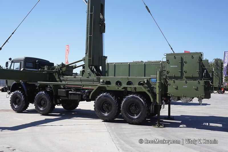 48Ya6-K1 Podlet-K1 radar with command vehicles