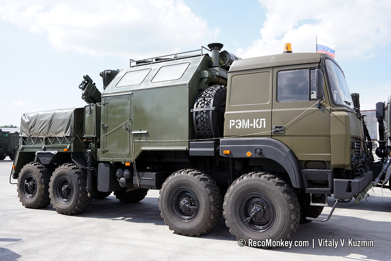 REM-KL recovery vehicle