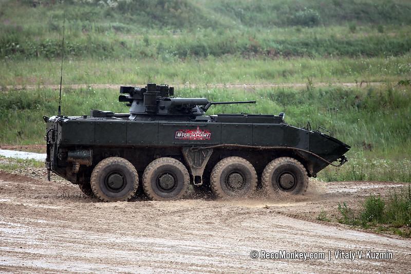 BMP-K K-17 with B05Ya01 Berezhok turret on platform VPK-7829 Bumerang