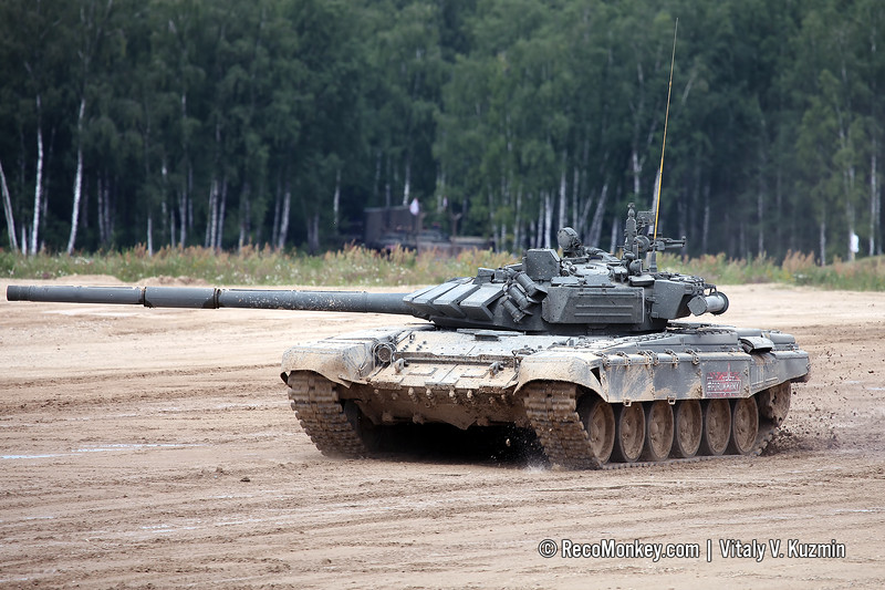 T-72B3 main battle tank