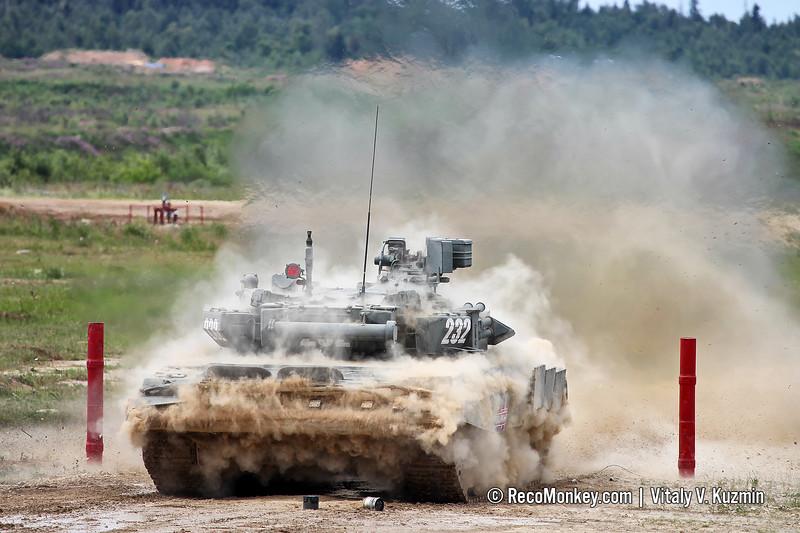 T-90A main battle tank