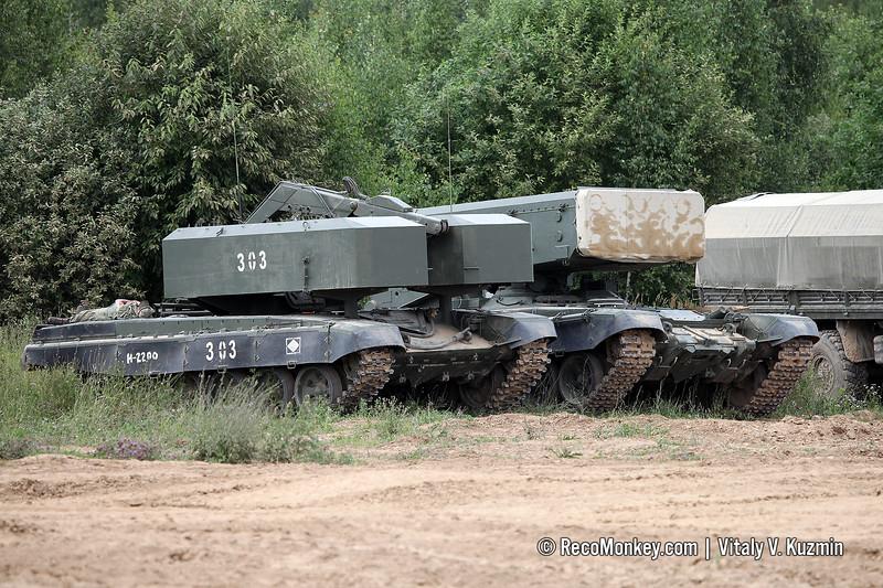 TZM-T transloader and BM-1 TOS-1A