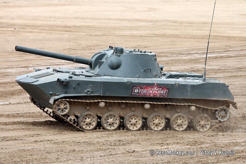 2S9 Nona-S self-propelled artillery
