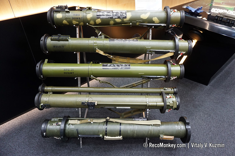 RMG, RShG-1, RPG-27, RPG-30 and RPG-28 grenade launchers