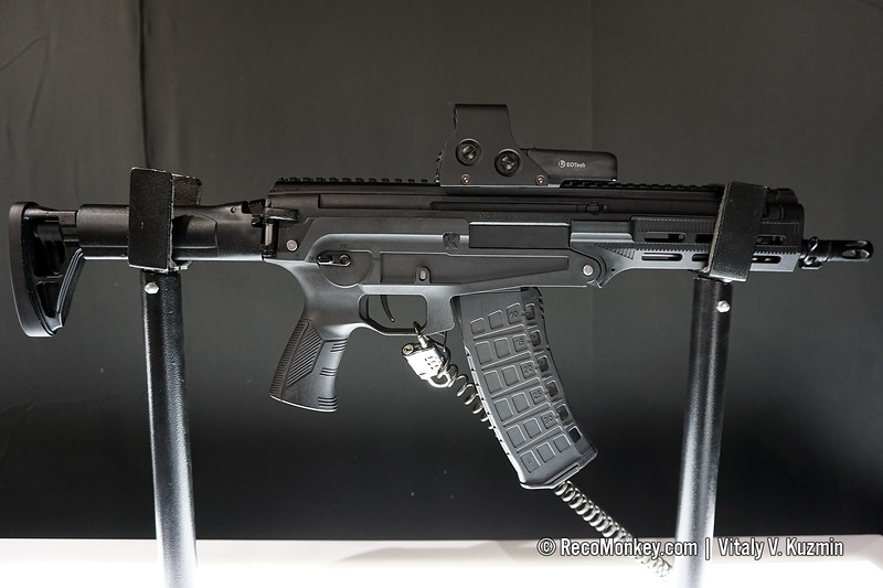 5.45x39mm AM-17 compact assault rifle