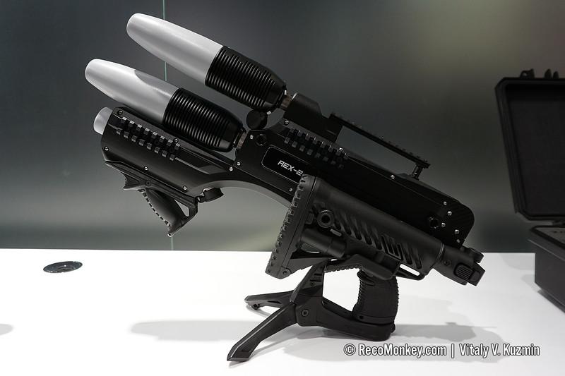 REX 2 anti-drone gun