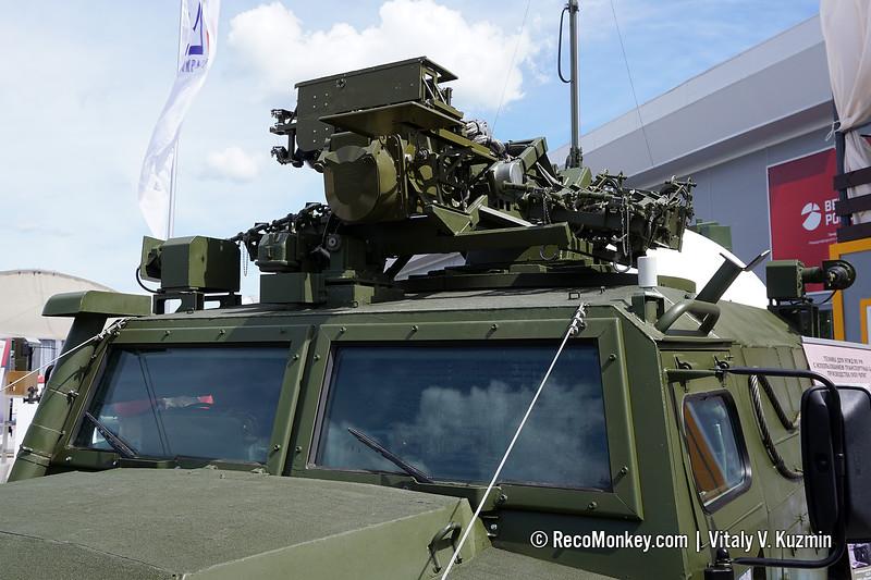 9A332 Gibka-S combat vehicle