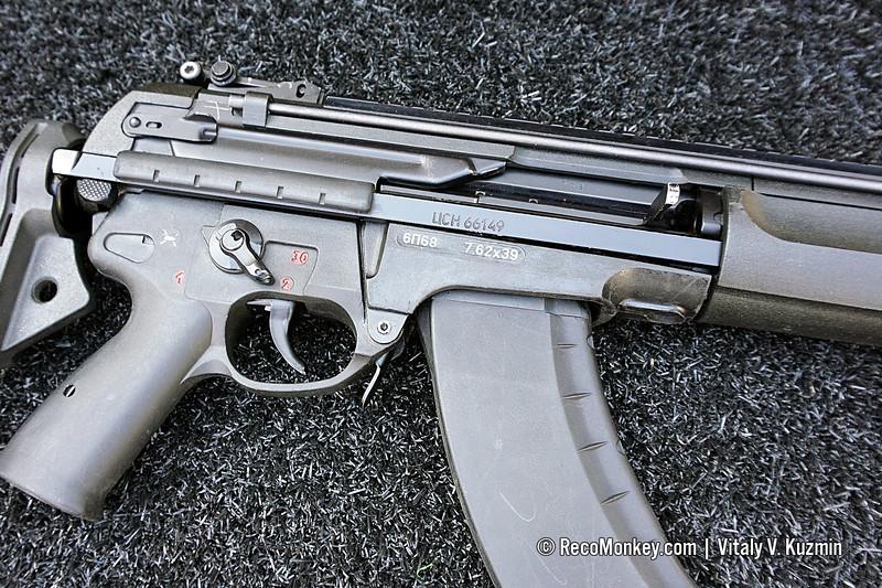 7,62x39mm 6P68 A-762 assault rifle