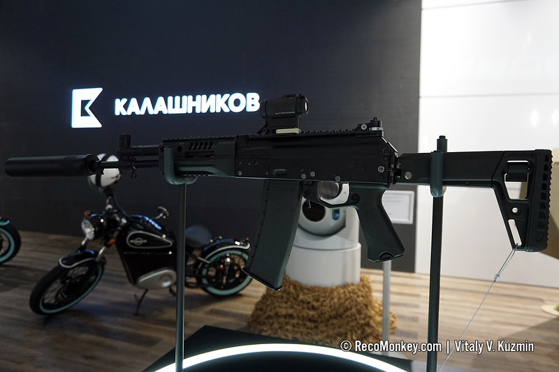 5.56x45mm AK-19 assault rifle
