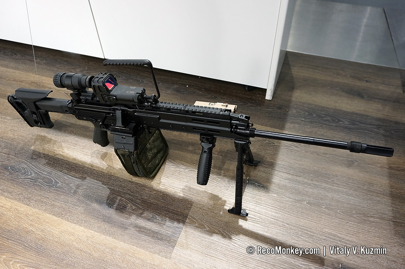 5.45x39mm RPL-20 machine gun