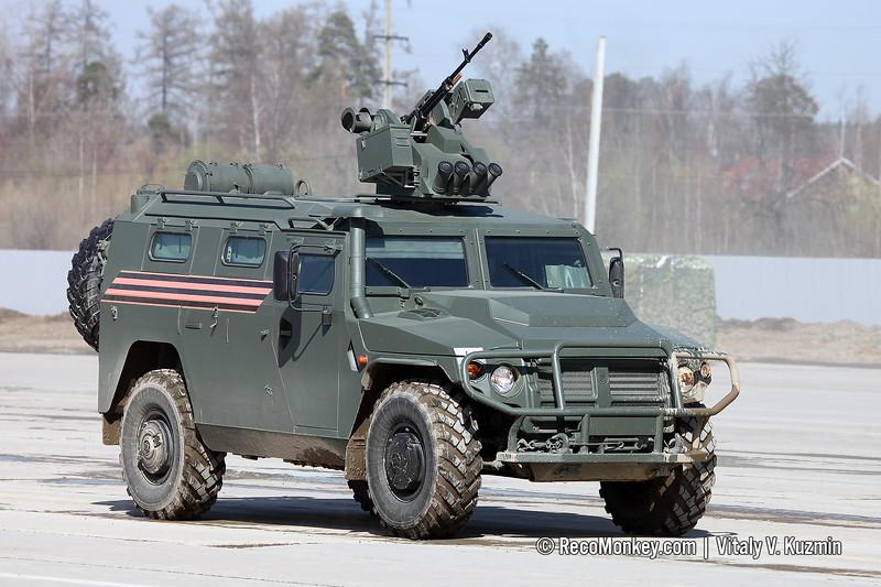 AMN 233114 Tigr-M with Arbalet-DM RWS