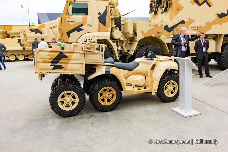 2B24 on RM500 6x4 ATV