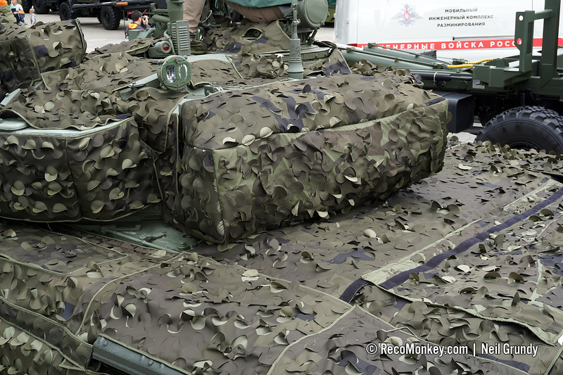 MMK-B3 Vehicle camouflage system