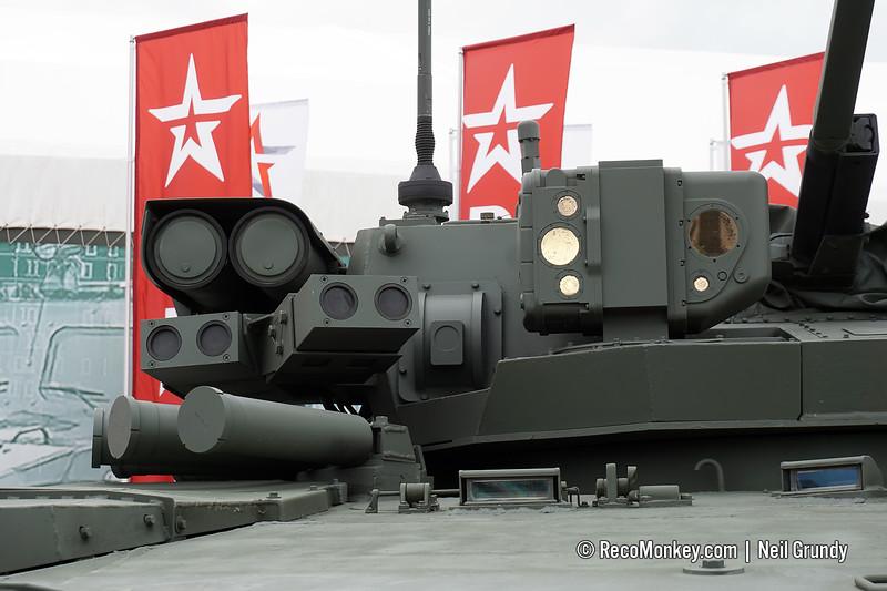 Infantry fighting vehicle B-11 object 695 on medium tracked platform Kurganets-25