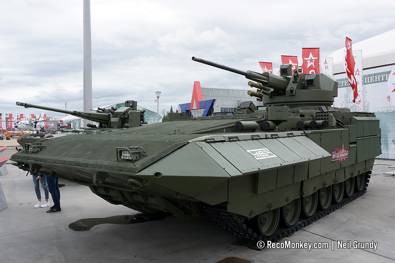T-15 Armata with upgraded Kinzhal turret