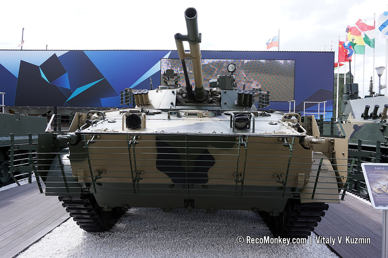Upgraded BMP-3 with Sodema sight and extra armor