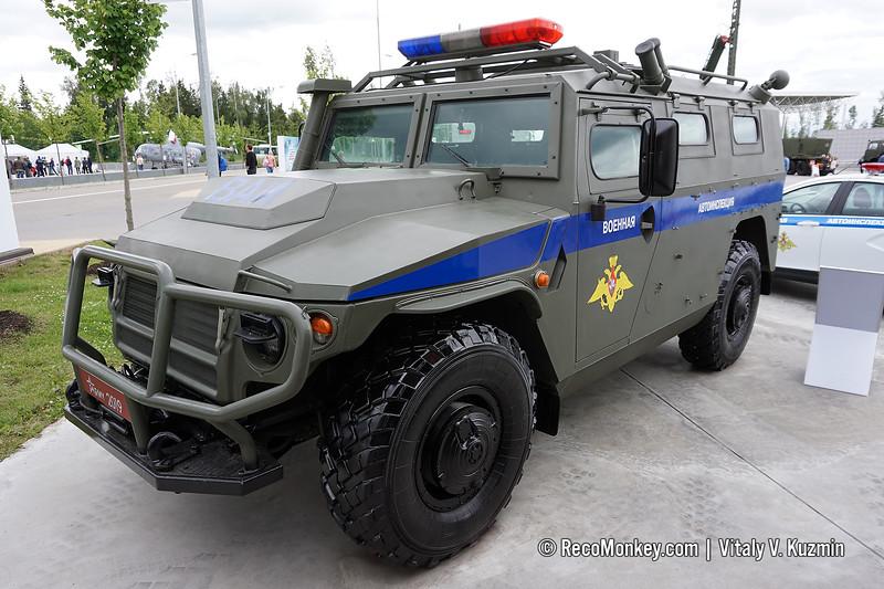 ASN 233115 Tigr-M SpN in Military Road Police version
