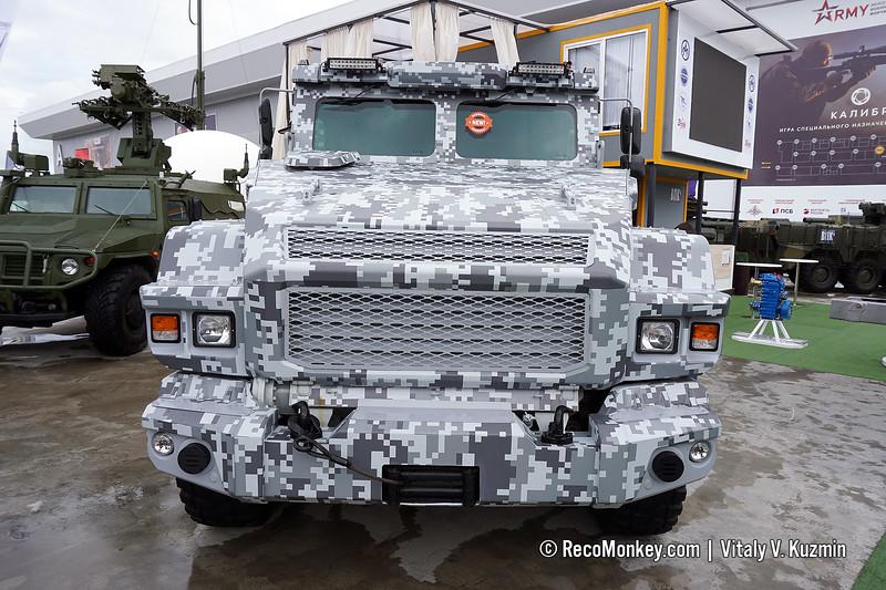 Facelifted VPK-3924 Medved SPM-3