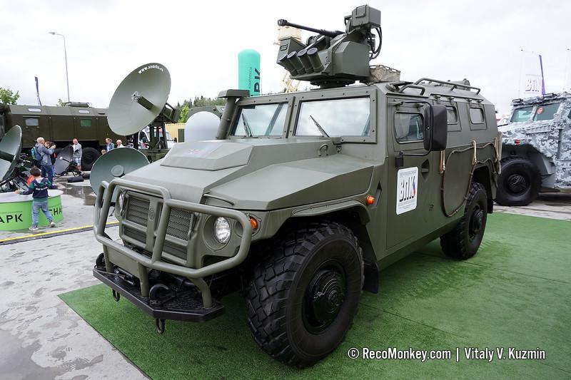 AMN 233114 Tigr-M with Arbalet-DM and AP-23 gun