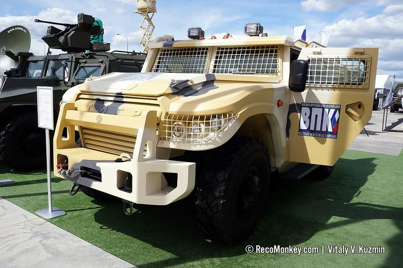 Facelifted ASN 233115 Tigr-M SpN armored vehicle