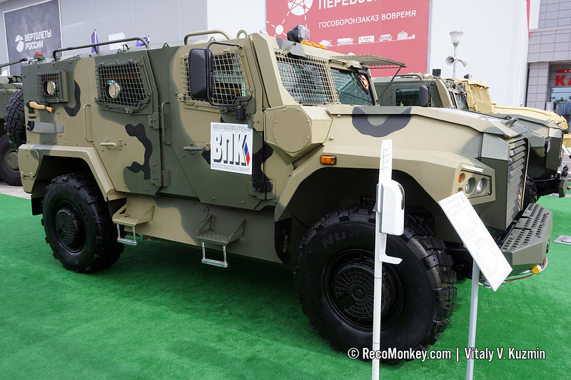 VPK-233136 Tigr-M SBM with Atlet chassis and parts