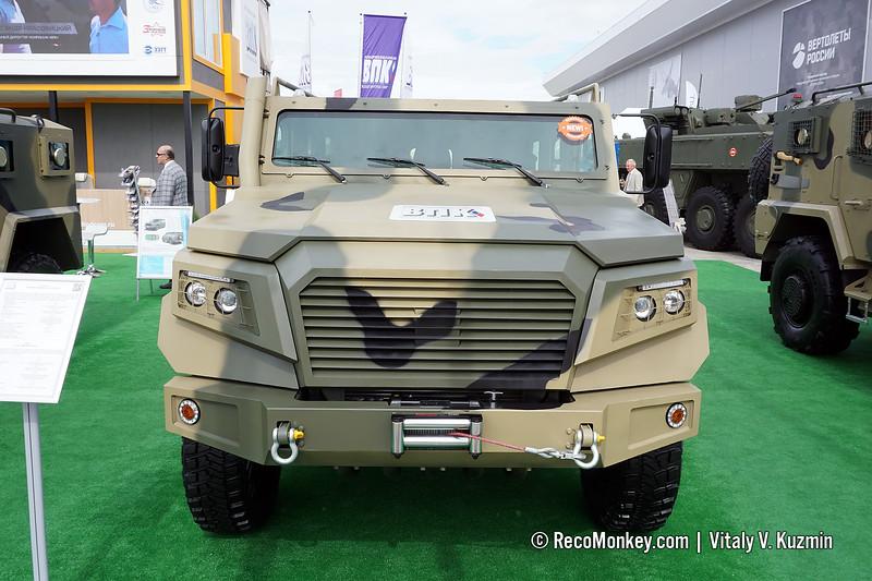Strela armoured vehicle