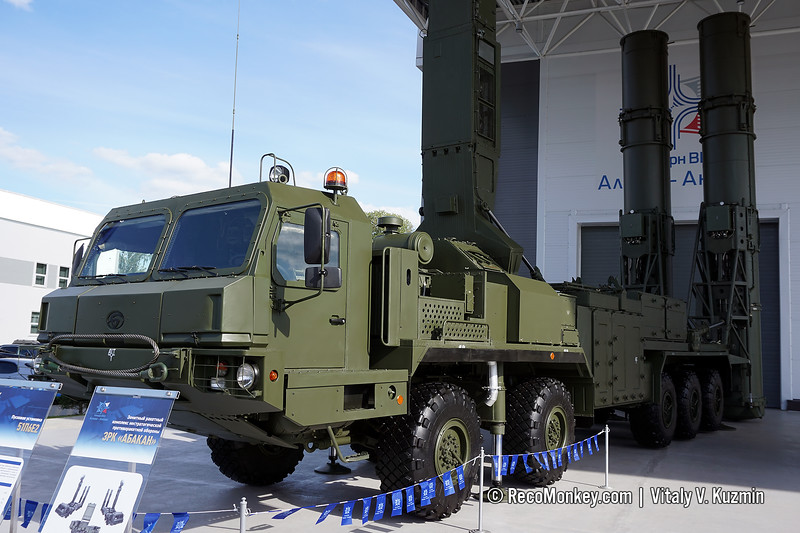 51P6E2 TEL from 98R6E Abakan air defence system