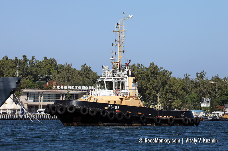 RB-389 harbour tug, Project 90600