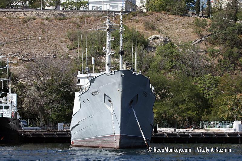 Cheleken hydrographic survey vessel, Project 861