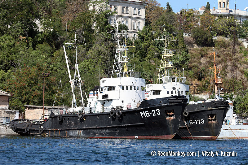 MB-23 and MB-173 seagoing tugs, Project 733