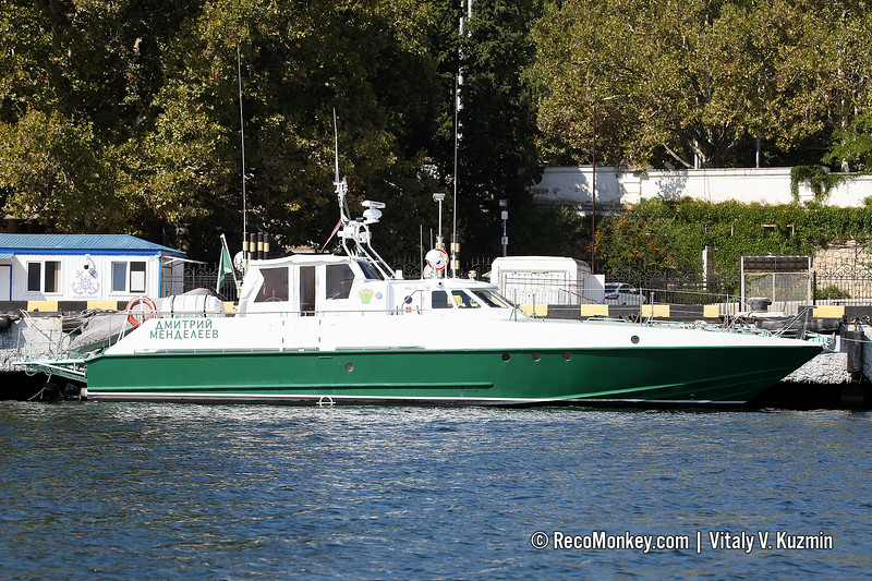 Dmitri Mendeleev fast boat, Project 12150M Mangust, operated by Customs
