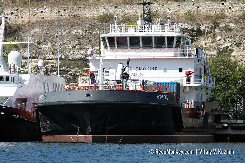 VTN-73 tanker and support vessel, Project 03180