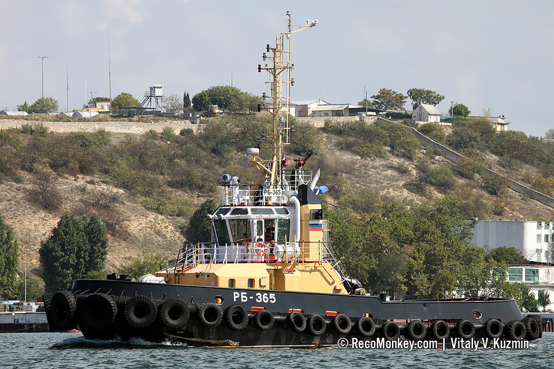 RB-365 harbour tug, Project 90600