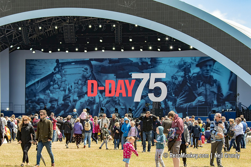 D-Day 75 Stage
