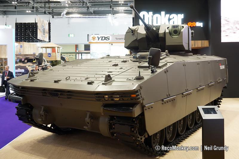 Tulpar-P with Mizrak 30 turret