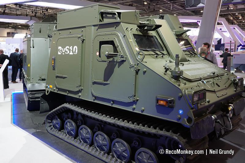 BvS-10 with GVA (Generic Vehicle Architecture)