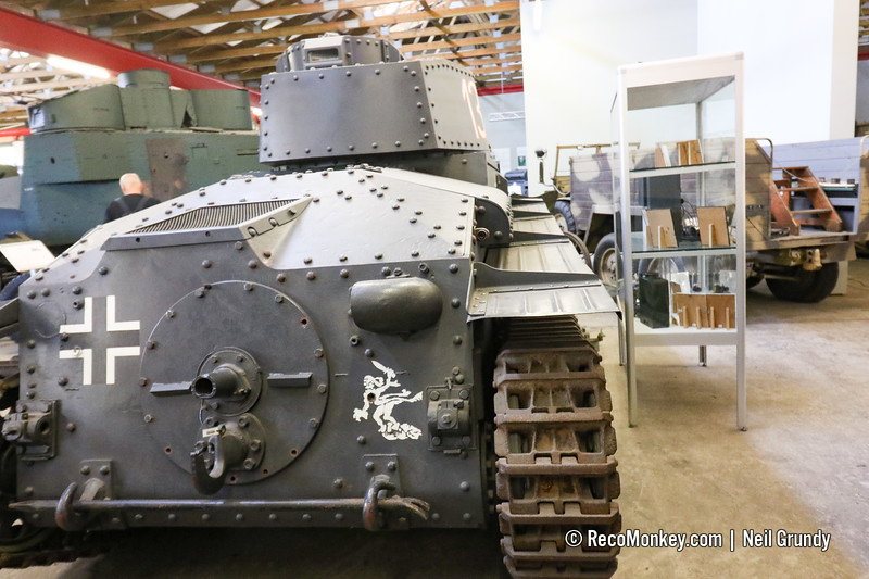 Swedish m42 S-11 licenced reproduction of Panzer 38(t)