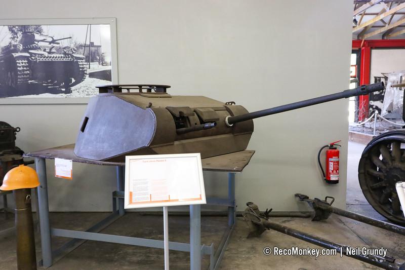 Panzer II Turret