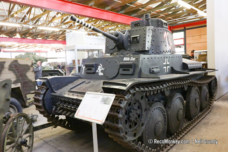 Swedish m42 S-11 licensed reproduction of Panzer 38(t)