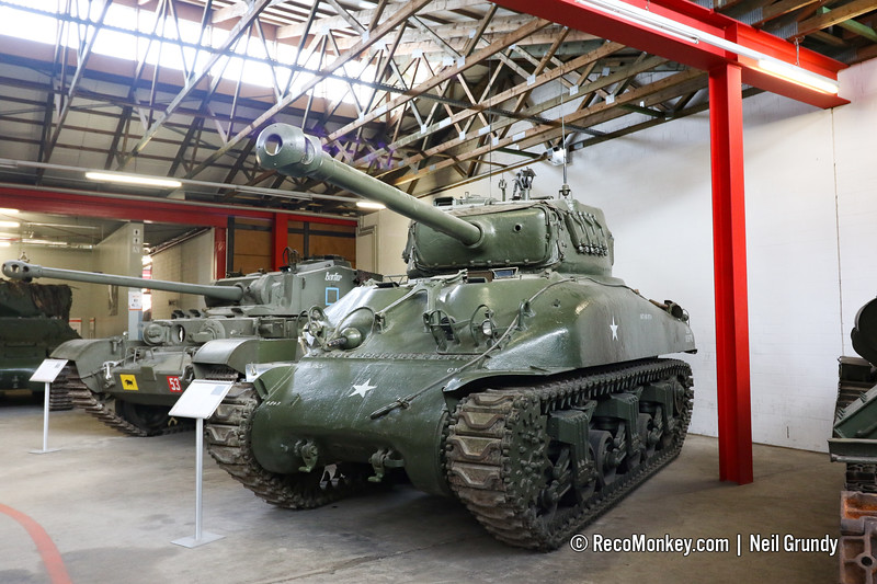 Sherman Hybrid - Hull from M4A1 & Turret from M4A3E8