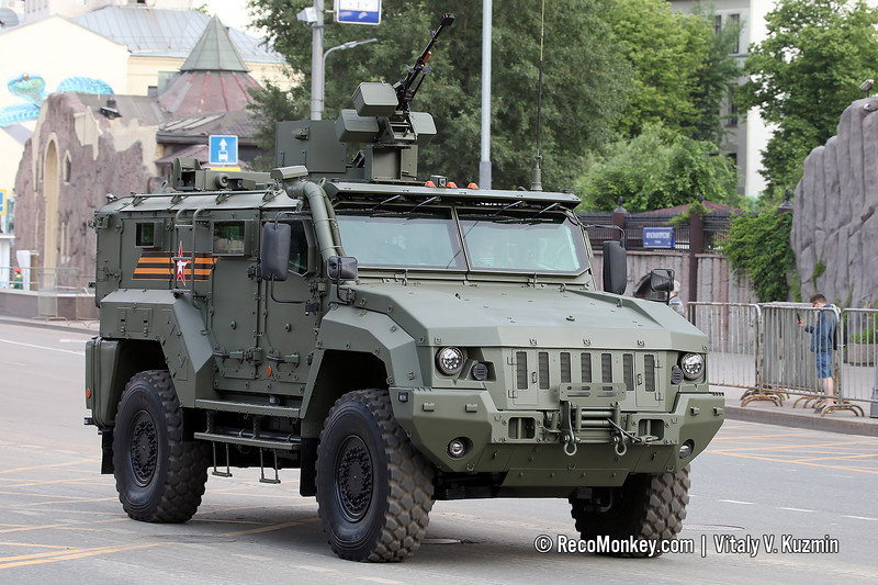 Typhoon K-53949 / KAMAZ-53949 Typhoon-K 4x4 with Kord machine gun