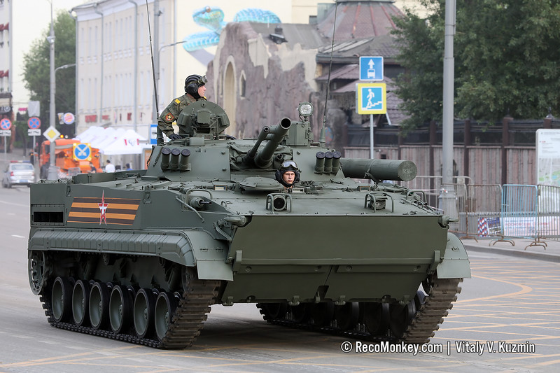BMP-3 with B03S03 Sodema sight