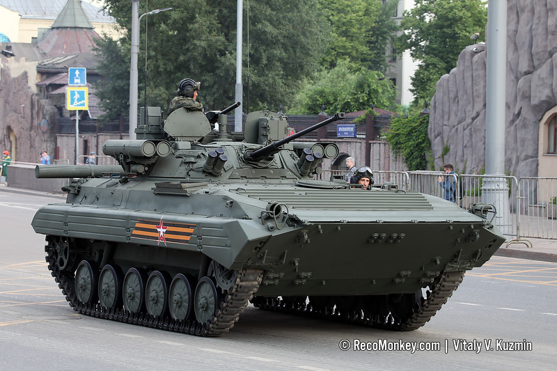 BMP-2M with B05Ya01 Berezhok turret