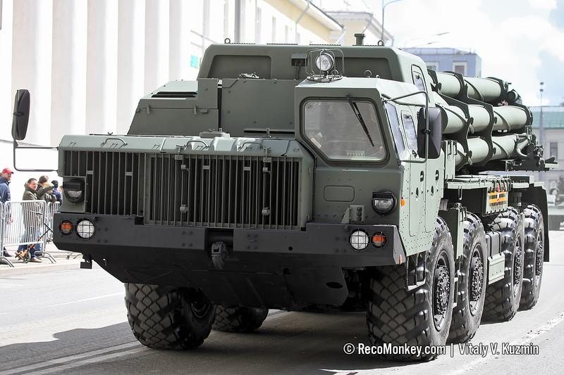 9A54 launcher of 9K515 Tornado-S MLRS