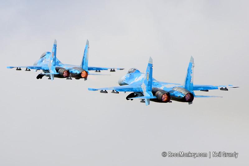 Su-27UB & Su-27P Flanker